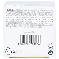 AVENE Nutritive Creme reichhaltig 50 Milliliter - Unterseite