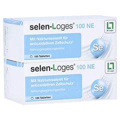 SELEN LOGES 100 NE Tabletten 200 Stück