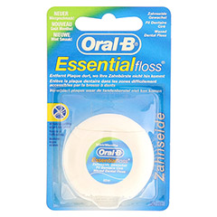 Oral-B Zahnseide Essential Floss mint gewachst 50 m 1 Packung