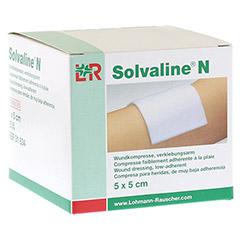 SOLVALINE N Kompressen 5x5 cm steril 25 Stück