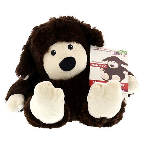 WARMIES Beddy Bear Schaf dunkelbraun 1 Stück