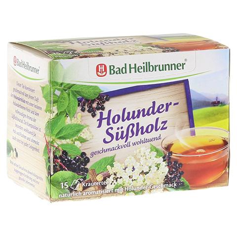 BAD HEILBRUNNER Tee Holunder Süßholz Filterbeutel 15 Stück