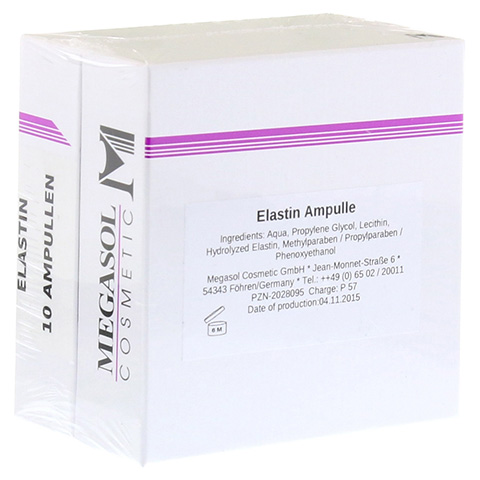 ELASTIN AMPULLEN 10x3 Milliliter