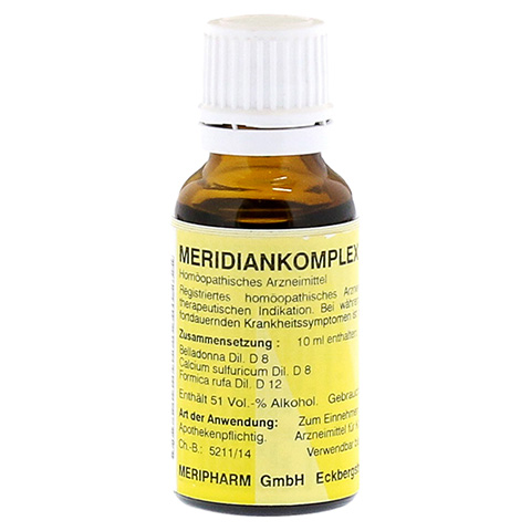 MERIDIANKOMPLEX 8 Tropfen zum Einnehmen 20 Milliliter N1