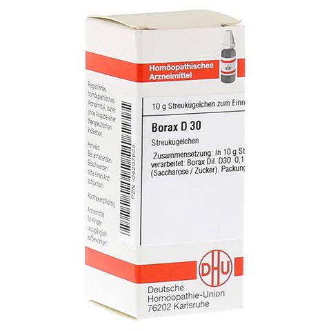 BORAX D 30 Globuli 10 Gramm N1