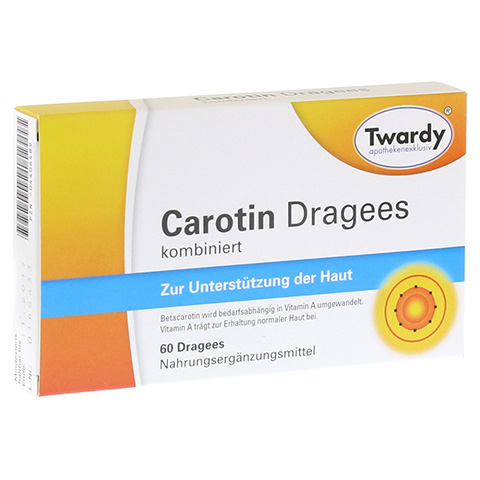 CAROTIN DRAGEES 60 Stück