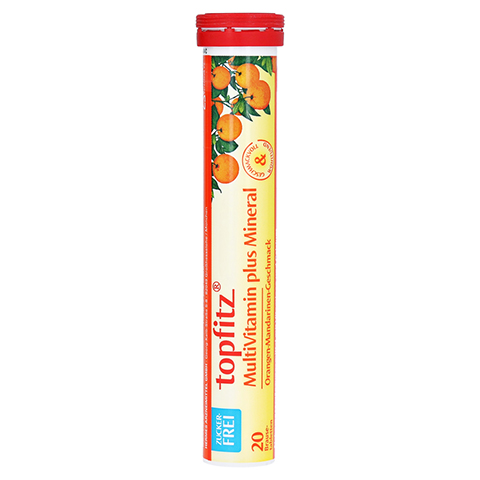TOPFITZ Multivitamin+Mineral Brausetabletten 20 Stück