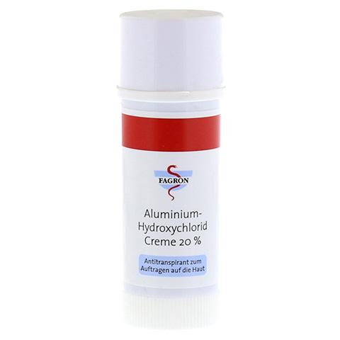 ALUMINIUM HYDROXYCHLORID Creme 20% Fagron 50 Milliliter