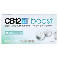 CB12 boost Eukalyptus Kaugummi 10 Stück - Vorderseite