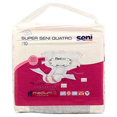 SUPER SENI Quatro Gr.2 M Inkontinenzhose 10 Stück - Vorderseite