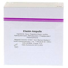 ELASTIN AMPULLEN 10x3 Milliliter - Vorderseite