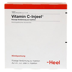 VITAMIN C INJEEL Ampullen 100 Stück - Vorderseite