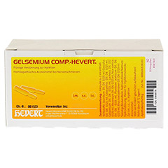 GELSEMIUM COMP.Hevert Ampullen 50x2 Milliliter N2 - Vorderseite