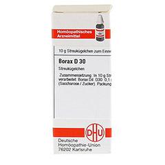 BORAX D 30 Globuli 10 Gramm N1 - Vorderseite