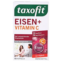 Taxofit Eisen+Vitamin C 40 Stück - Vorderseite