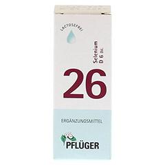 BIOCHEMIE Pflüger 26 Selenium D 6 Tropfen 30 Milliliter N1 - Vorderseite