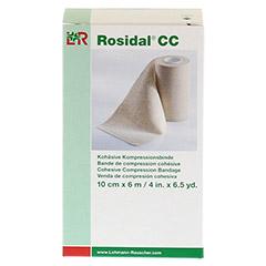 ROSIDAL CC kohäsive Kompressionsbinde 10 cmx6 m 1 Stück - Vorderseite