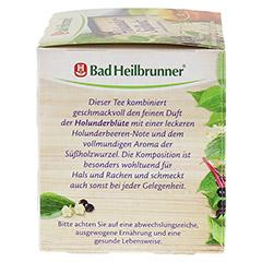 BAD HEILBRUNNER Tee Holunder Süßholz Filterbeutel 15 Stück - Linke Seite