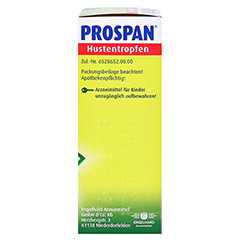 Prospan Hustentropfen 20 Milliliter N1 - Rechte Seite