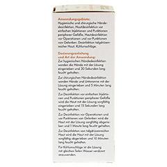 ISOPROPYLALKOHOL 70% V/V Henry Lamotte 100 Milliliter - Rückseite