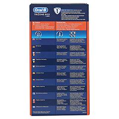 ORAL B TriZone 600 Standard Zahnbürste 1 Stück - Rückseite