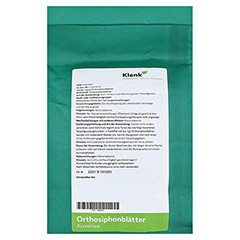 ORTHOSIPHONBLÄTTER Tee 250 Gramm - Rückseite