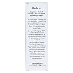 HYALURON Nachtpflege Creme 50 Milliliter - Rückseite