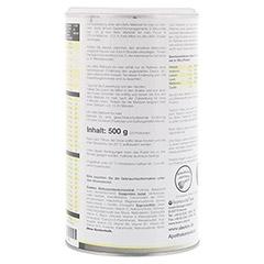XLIM Aktiv Mahlzeit for men Vanille Pulver 500 Gramm - Rückseite