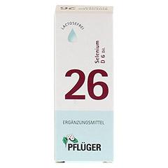 BIOCHEMIE Pflüger 26 Selenium D 6 Tropfen 30 Milliliter N1 - Rückseite