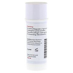 ALUMINIUM HYDROXYCHLORID Creme 20% Fagron 50 Milliliter - Rückseite