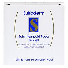 SULFODERM S Teint Kompakt Puder pastell 10 Gramm - Vorderseite