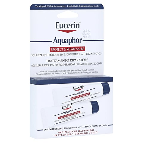 EUCERIN Aquaphor Protect & Repair Salbe 2x10 Milliliter
