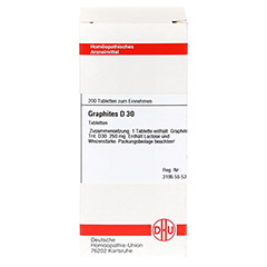 GRAPHITES D 30 Tabletten 200 Stück - Vorderseite