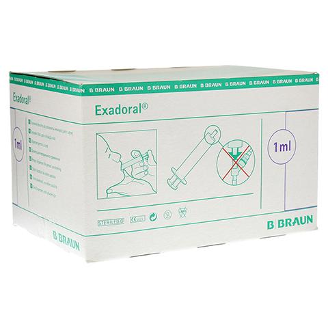 EXADORAL B.Braun orale Spritze 1 ml 100 Stück
