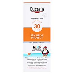EUCERIN Sun Kids Micropigment Lotion LSF 30 + gratis Eucerin Sun Oil Control Body LSF50+ 150 Milliliter - Vorderseite