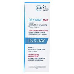 DUCRAY DEXYANE MeD Creme 30 Milliliter - Rückseite