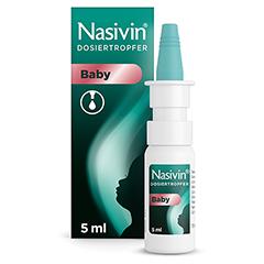 Nasivin Dosiertropfer ohne Konservierungsstoffe Baby 5 Milliliter N1