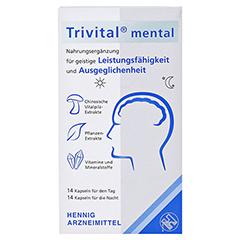 TRIVITAL mental Kapseln 28 Stück - Vorderseite