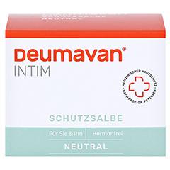 Deumavan Schutzsalbe Neutral Dose 100 Milliliter - Vorderseite