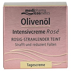 medipharma Olivenöl Intensivcreme Rose Tagescreme 50 Milliliter - Vorderseite