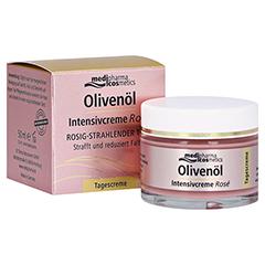 medipharma Olivenöl Intensivcreme Rose Tagescreme 50 Milliliter