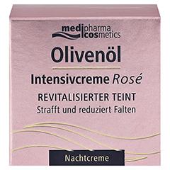 Olivenöl Intensivcreme Rose Nachtcreme 50 Milliliter - Vorderseite