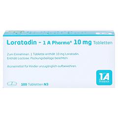 Loratadin-1A Pharma 100 Stück N3 - Oberseite