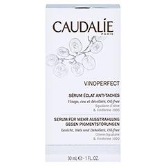 Caudalie Vinoperfect Serum + gratis Caudalie Sonnencreme SPF 50 25ml 30 Milliliter - Vorderseite