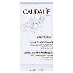 Caudalie Vinoperfect Serum + gratis Caudalie Sonnencreme SPF 50 25ml 30 Milliliter - Rückseite
