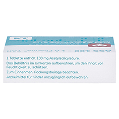 ASS 100-1A Pharma TAH 50 Stück N2 - Oberseite