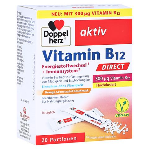 Doppelherz aktiv Vitamin B12 Direkt 20 Stück