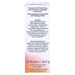 Doppelherz aktiv Vitamin B12 Direkt 20 Stück - Rechte Seite