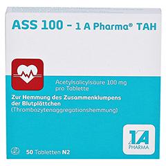ASS 100-1A Pharma TAH 50 Stück N2 - Vorderseite