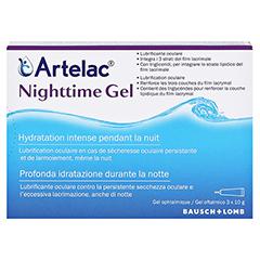 ARTELAC Nighttime Gel 3x10 Gramm - Rückseite